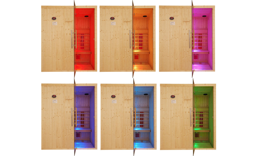 Oceanic Infrared Sauna Chromotherapy lights