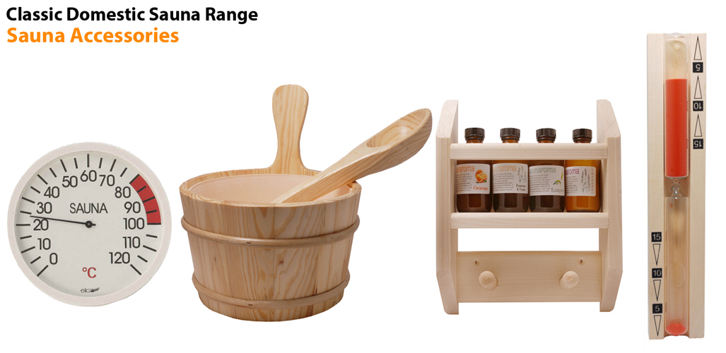 Oceanic Sauna Cabin Accessories