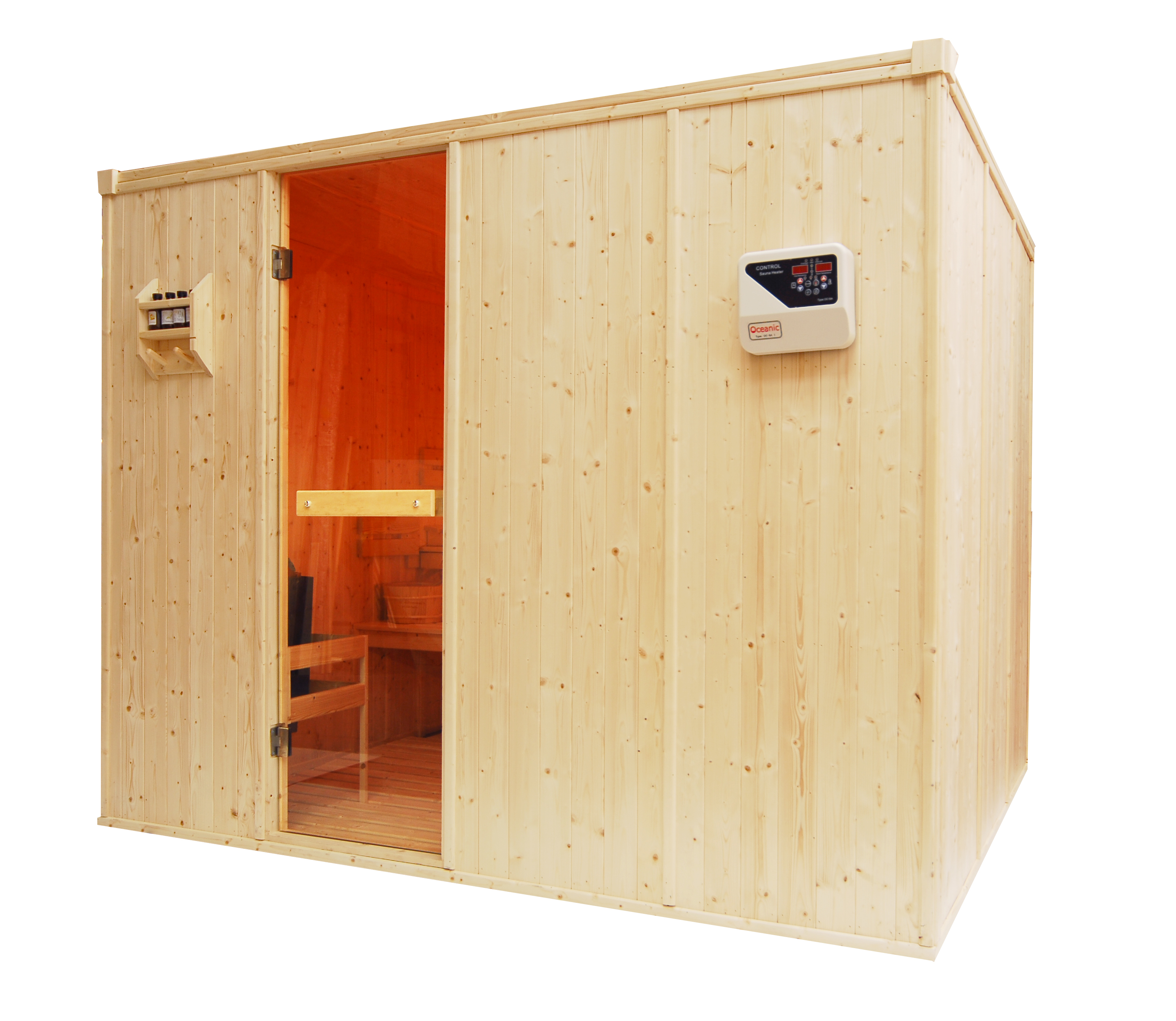 Light Duty Commercial Saunas