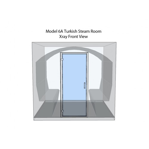 8 Person Commercial Turkish Steam Room Model 6A
