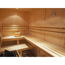 D2025 Sauna Bench, Backrest & Floor Mat Kit