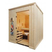 12 Person Heavy Duty Commercial Sauna Floor Plan