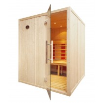 4 Person Home Infrared Sauna L Bench IR2525