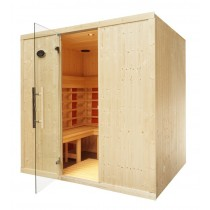 4 Person Home Infrared Sauna L Bench IR2530