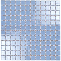 Light Blue Glass Mosaic 295 x 295mm