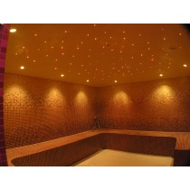 Sauna Glass Fibre Optic Lighting