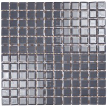 Slate Grey Glass Mosaic 295 x 295mm